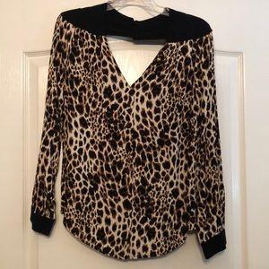 Cheetah dress shirt
